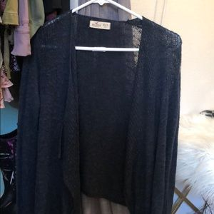Hollister Navy Blue Cardigan